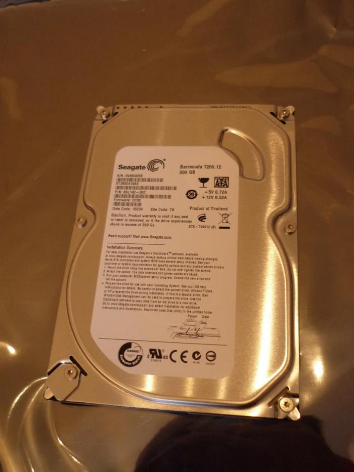 3621262 - [Review] [Festplatte] - 500GB Seagate ST3500418AS 7200 16MB 7200 Umin SATA