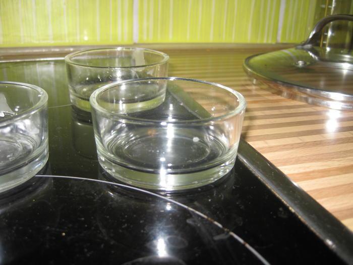 8 kleine schmale flaschen glas for Billige deko